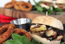 Food / Burgers / Sandwich / by Anne Crain
