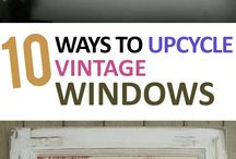 upcycle old windows