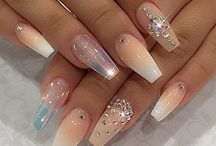 Blingy nails