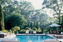 Outdoor Spaces + Pools / by Melanie Duncan