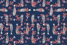 Moda inspirada en la iconografía precolombina / Estampados inspirados en nuestra historia y en nuestras imágenes precolombinas ..
