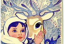 New Year Soviet Postcards