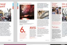 Magazines / Mise en page