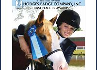 2013 Equestrian Catalog Cover Contest / See who won the 2013 Equestrian Catalog Cover Contest - Winners submitted photographs with Hodges Badge Company awards in them.