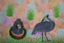 Peintures Congolaises / Tableaux des artistes congolais