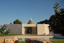 Puglia contemporary style / Modern country interior, restructure e new project of villas