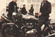 Boys, cars, bikes