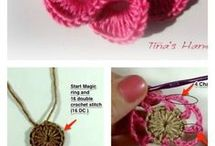 how to crochet 3d flowers
