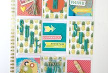Cocoa Daisy May 2016: Marrakesh / We carefully curate Scrapbooking, Day in the Life (Project Life or pocket scrapbooking), Day Planner (organizers, filofax, kikki k, planner), and Art Journaling kits every month. / by Cocoa Daisy Scrapbooking