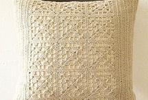 Almofadas de crochet