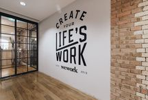 Office Mission Wall / Impressive Office Mission Walls and Graphic Murals