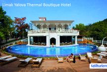 Limak Yalova Thermal Boutique Hotel / Sonbaharın tonlarıyla renklenen Limak Yalova Thermal'in doğasında tatilinize huzur katın.
