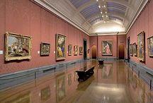 múzeumok és festök