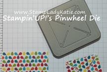 Pinwheel sizzix / Stampin up sizzix die