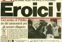 Story / Le prime pagine storiche del Corriere dello Sport