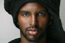 dark skinned men