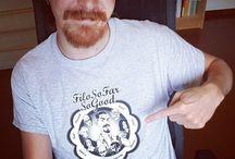 Instagram Sono arrivate le nuove magliette di #FiloSoFarSoGood! Se ne volete una, scrivetemi in privato o via mail! :D