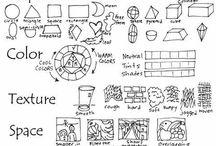 Schule Bildaufbau/ Beschreibung