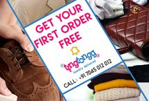 First Order Free Laundry Service-Tingtongg