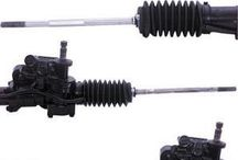 Rack and Pinion Complete Unit / Rack and Pinion steering systems have been used for many years now.  They were first seen on imported vehicles, but are now commonly used by American car manufacturers. Steering Rack and Pinion systems are used on virtually all front wheel drive vehicles as well as many All Wheel Drive and 4 Wheel Drive vehicles.  A Rack and Pinion is a system that takes motion such as a rotating gear (the pinion) that is moving in a circular motion and converts the movement to a linear motion (the rack).