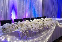 Fairy Lights, Flowers & Rustic Style / Fairy Lights, Flowers & Rustic Style http://www.partydesign.com.au/