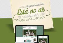 Novo blog Encontrando Ideias!