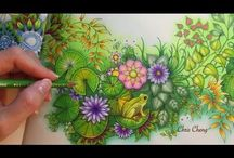 coloring tutorials