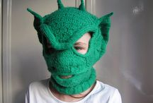 Knitted/Crochet-Balaclava ski masks / by Robbie Brooks
