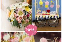 Wedding Theme Inspiration / Mood Boards and Colour Schemes to inspire you for your wedding day