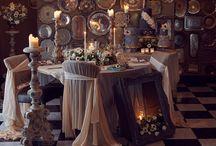 Boutique Elegance / Decadent, Rich Velvet Style ... http://www.bluefizztentsandevents.co.uk/small-wedding-venues-devon-intimate/