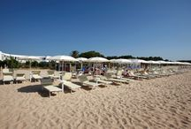Hotel Flamingo Resort Santa Margherita Pula / Hotel Flamingo Resort is a 4 star hotel located directly by the sea with a private beach of white sand inSanta Margherita di Pula, at only 35 km. from Cagliari, one of the best holiday destinations in south Sardinia