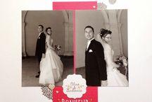 Vive les mariés #4enSCRAP / Les créations de l'équipe créative