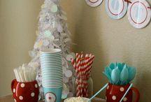 Winter Birthday Party / Caesar's second Birthday  / by Katy Mae Garcia