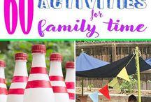 Family Fun / Family activities, weekend fun, parenting tips, parenting hacks.