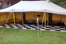 Strawberry Fieldz - Asian Pole Tent / Asian Pole Tent - perfect for garden parties, festivals, chilling out.