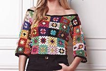 mosaico blusa