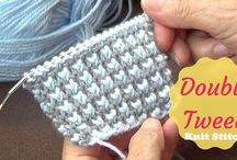 Knit/Stitches & How to...
