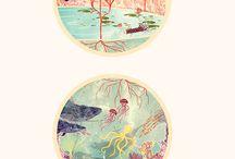 Illustrations / Graphic design - A bit dreamy