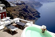 Luxury & Relaxation / Your every desire is being fulfilled while you relax under the magnificent Greek summer sun.