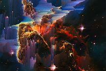 """inspiration: PIXEL ART: ADAM FERRISS: """"500 YEARS AWAY"""""""