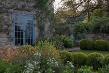 Herbaceous Borders with box