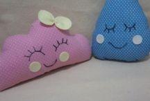 almofadas de tecido