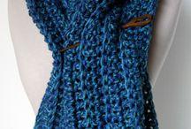 Scarfs crochet