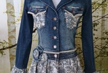 bluza jeans jacket denim