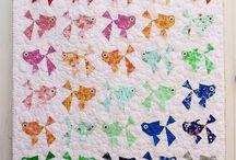 Quilts Block - Fish