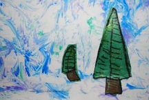 Winter Art / by Resurrection Catholic Preschool & Kindergarten