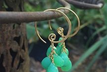 Inspiration Jewelry / Inspirational jewelry;  brass, sterling silver, and gemstones