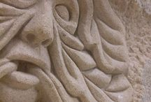 Stone Carving / Pictures of stone carvings from Stone Carving Courses