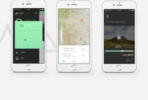 GUI KIT  'KAMP' / 'KAMP'는 대한민국의 캠핑지를 소개해주고 다양한 서비스를 제공하는 '코리안 캠핑앱'입니다.
