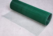 PVC Garden Coated Green Outdoor Fence Border Mesh Poultry Keepers Home Furniture